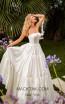 Tarik Ediz 50759 Ivory Front Dress