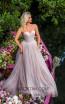 Tarik Ediz 50764 Stone Front Dress