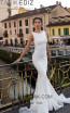 Tarik Ediz 93600 Ivory Front Dress