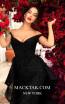 Tarik Ediz 93634 Black Front Dress