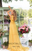 Tarik Ediz 93897 Yellow Back Dress
