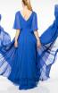 Terani coutur 1922M0526 Back Dress