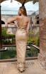 Tina Holly TW003 Gold Back Dress