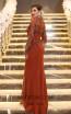 TK DA025 Back Evening Dress