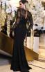 TK DA025 Black Back Evening Dress
