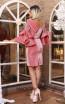 TK DA026 Pink Back Evening Dress