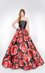 X & M Couture 49026 Front Evening Dress