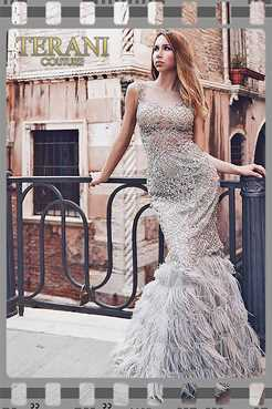 8238a6a5a4 Terani Couture High Low Prom Dresses