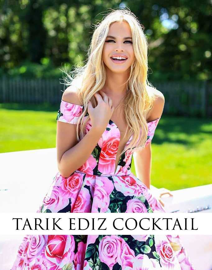 Tarik Ediz Cocktail Dresses