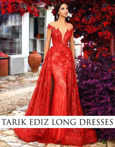 Tarik Ediz Long Dresses