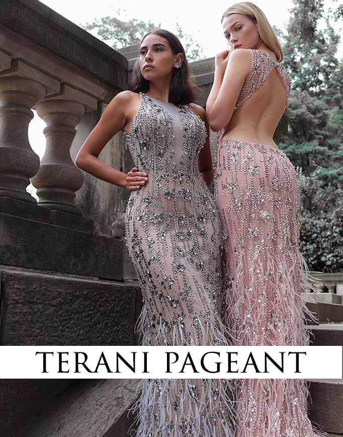 terani pageant dresses